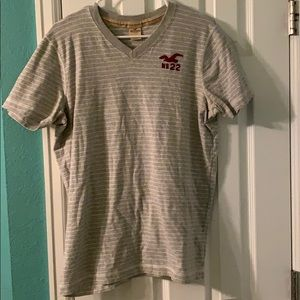 Men's striped hollister shirt